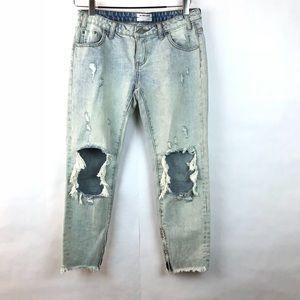 {ONE TEASPOON} Freebirds Distressed Jeans